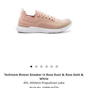 Techloom Breeze in Rose Dust & Rose Gold & White